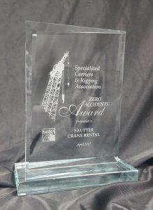 Sautter Crane Rigging Award