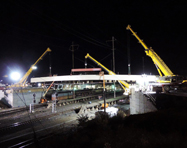 Route 222 Bridge over Amtrak for J. D. Eckman, Inc., Lancaster, PA