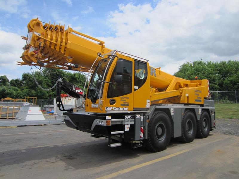 LTC 1045 - 3.1 City Crane.Liebherr